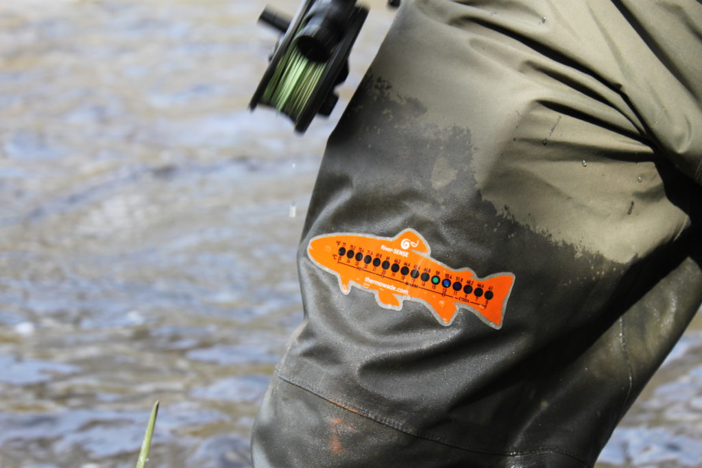 River-SENSE water temperature made easy...