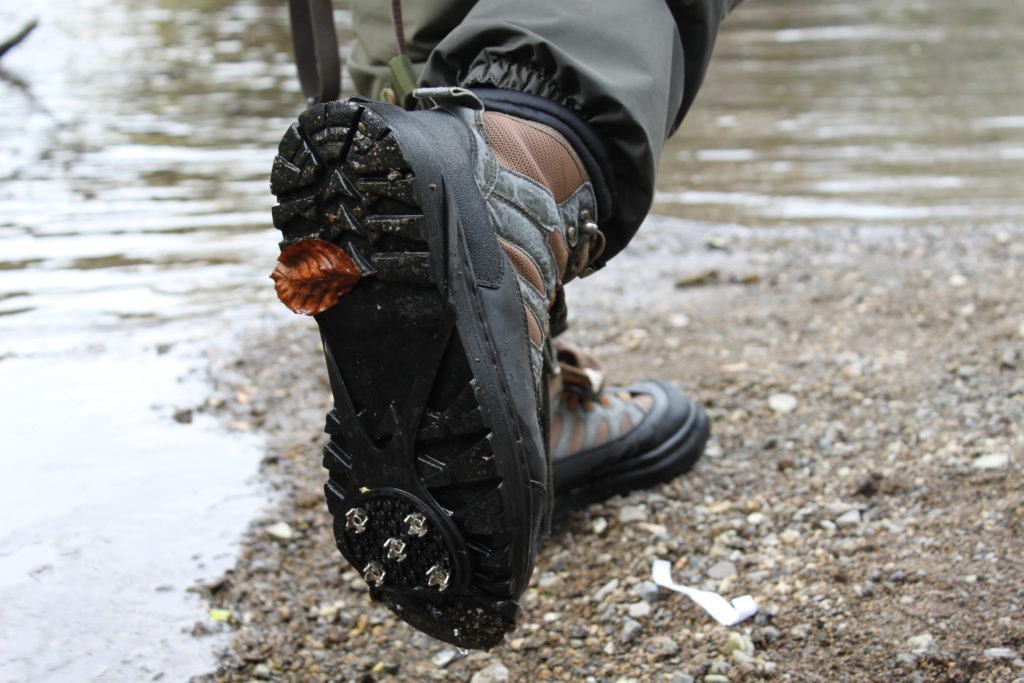 Wading boot grips